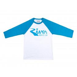 River Classic Logo 3/4 Sleeve T-shirt