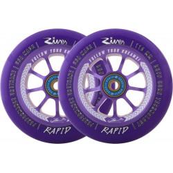 River Rapid Sign. J. Clark wheels