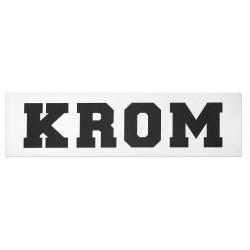 KROM sticker