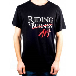 """T-shirt Ethic  """" Ride Is Art """""""