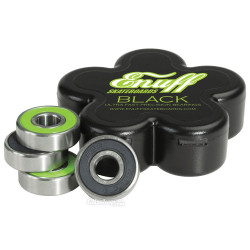 8 bearings Enuff Black