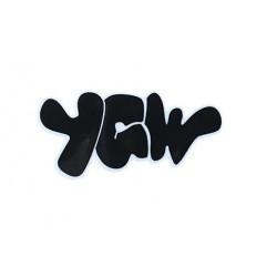 YGW logo stickers