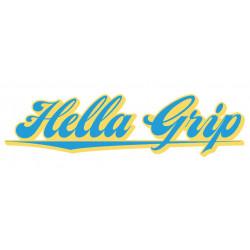 Hella Grip Logo stickers