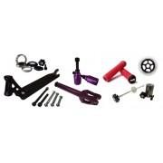 Parts : Deck - Wheels - Forks - bars - Grips - Brakes - bearings - Pegs - Headsets - SCS ...