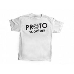 Proto classic logo white